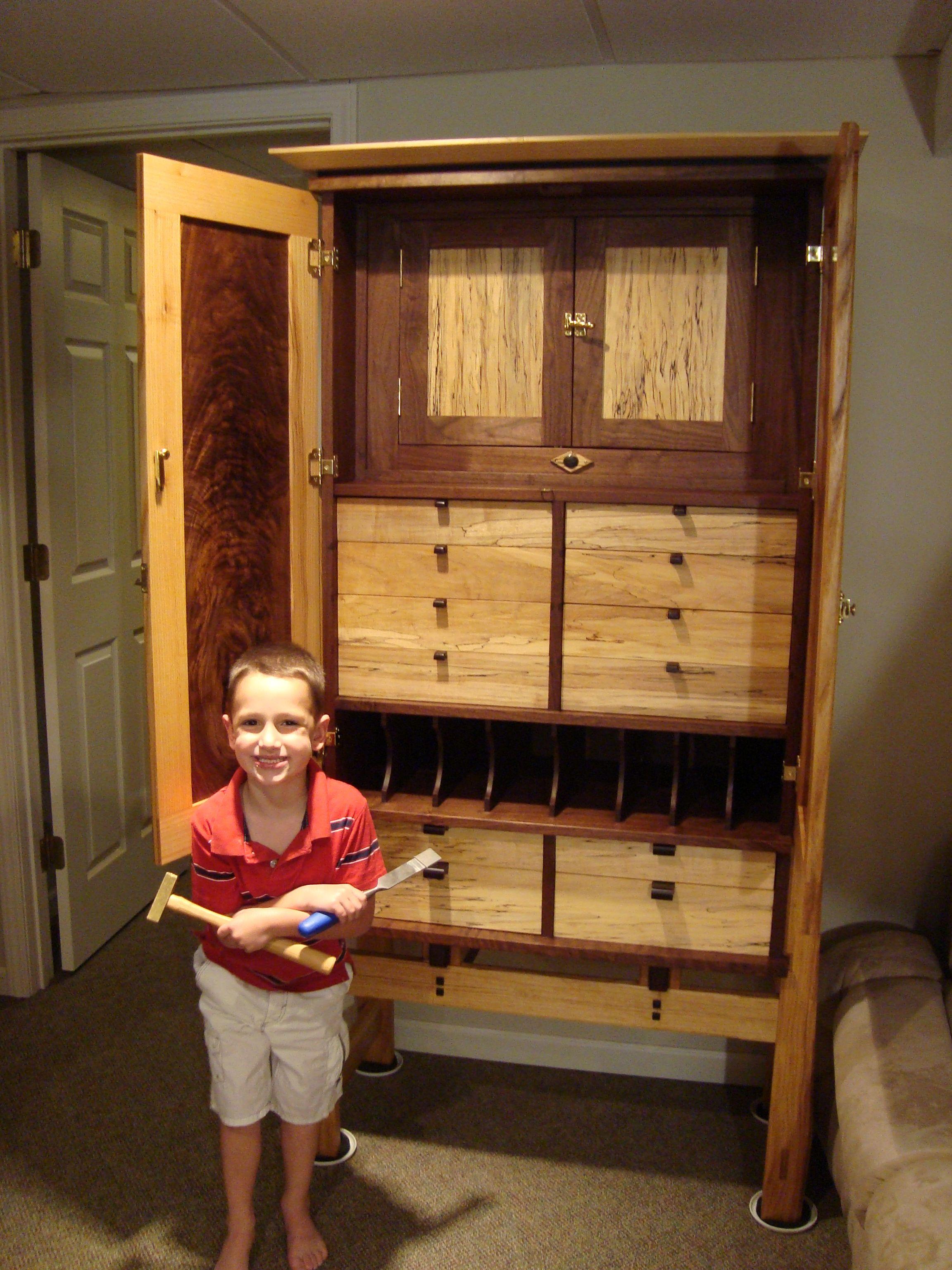 Tyleru0027s (Krenov Inspired) Tool Cabinet : The Hands On Woodworker