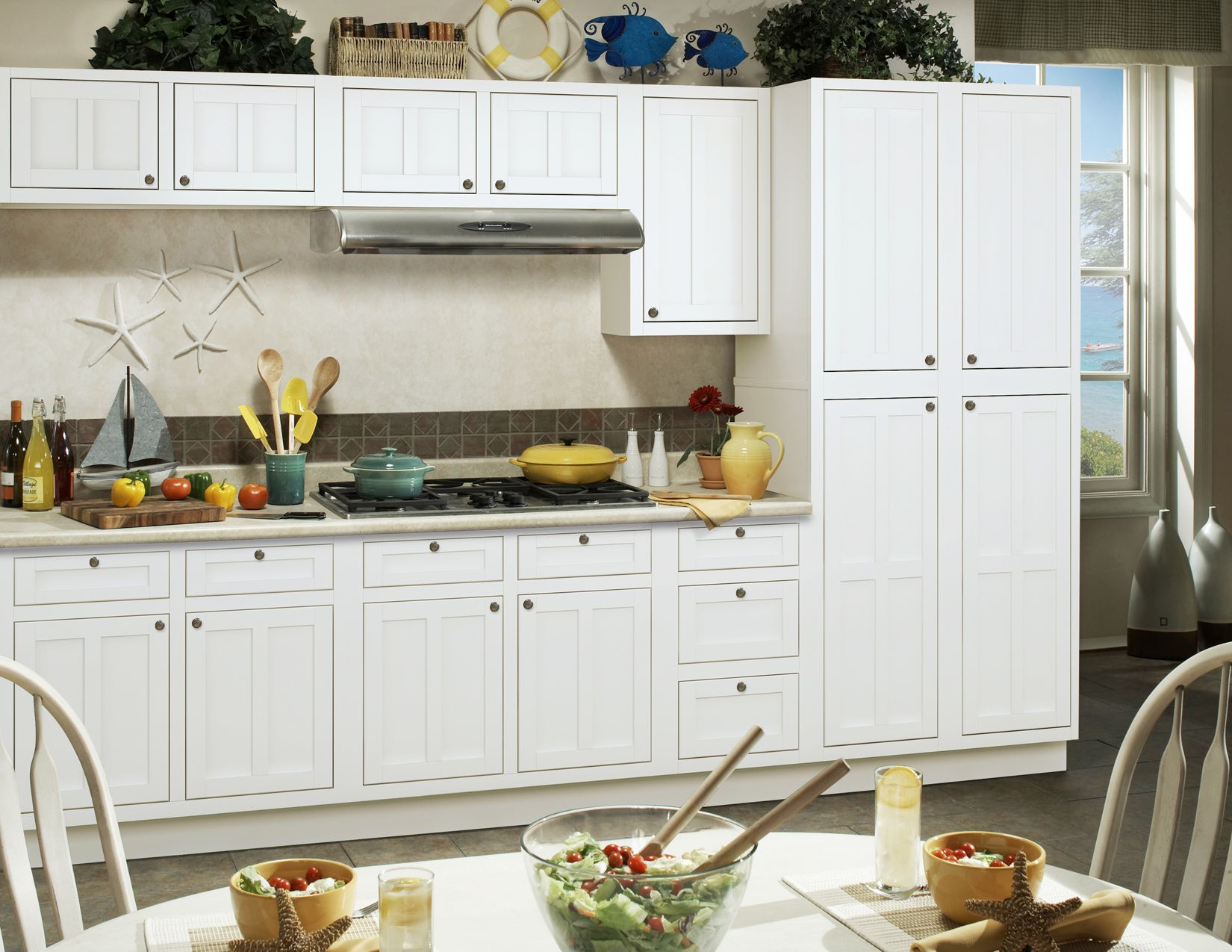 The Palmetto kitchen collection from Sunny Wood.  Find out more at www.sunnywood.biz.