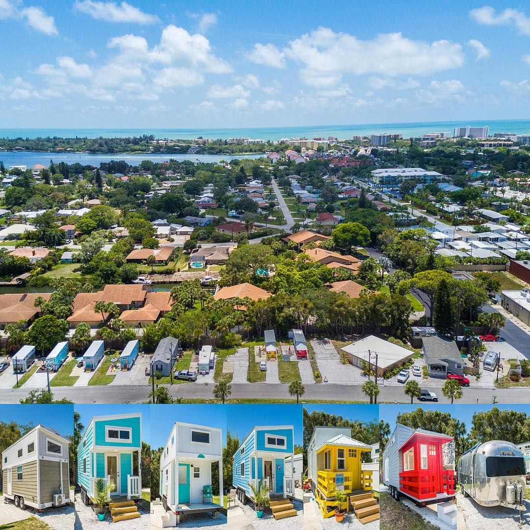 tiny houses by siesta key sarasota fl take a tiny house beach resort. Black Bedroom Furniture Sets. Home Design Ideas