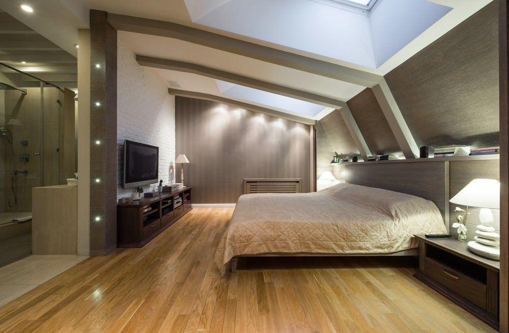 73 Dachboden Master Schlafzimmer Designideen Bilder