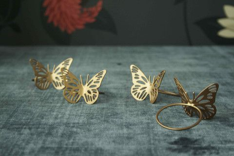 #dainty #stylish l Chrysalis Napkin Rings l Rs 450 for 4