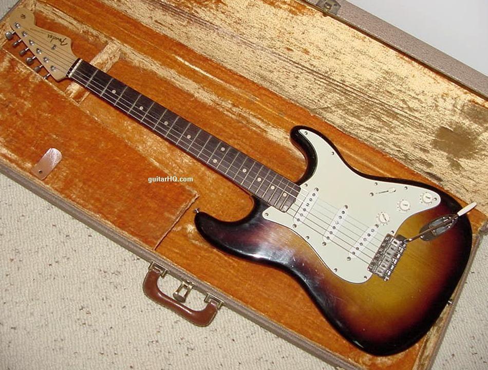 Vintage Fender Stratocaster Parts