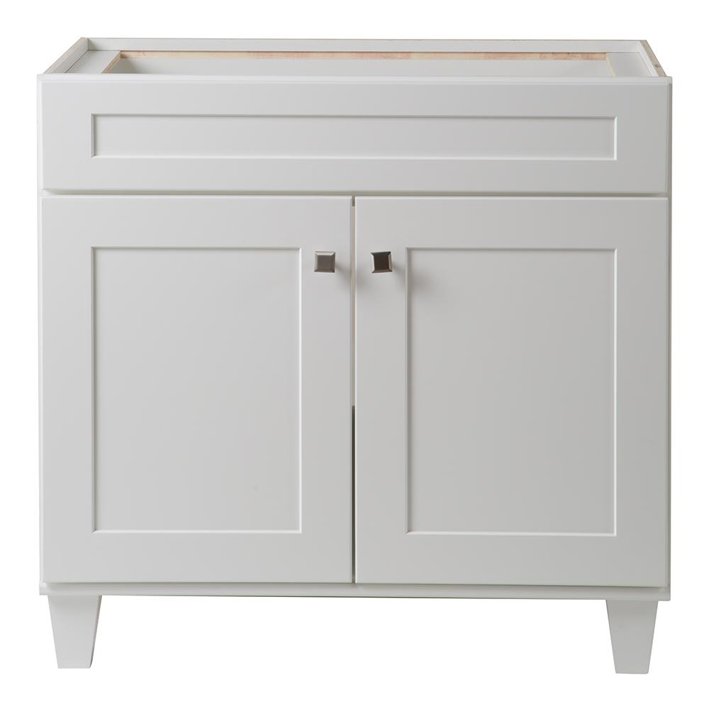 Home Decorators Collection Creeley 36 In Vanity Cabinet In Classic White 19evsdb36 The Home With Images Vanity Cabinet Bathroom Vanity Cabinets Custom Bathroom Cabinets