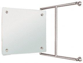 Crl Chrome 15 X 15 Frameless Pivot Mirror By Cr Laurence By Cr
