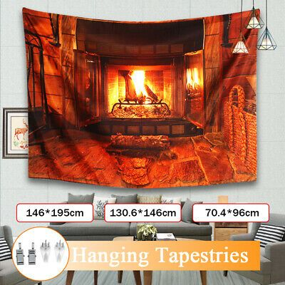 Wall Hanging Tapestries Fireplace Christmas Tree Pattern Blankets Art Home  2 2 #fashion #home #garden #homedcor #tapestries (ebay link)
