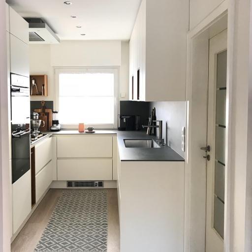 Kleine Küchen größer machen So geht\u0027s! Pinterest Interiors - Kleine Küche Optimal Nutzen