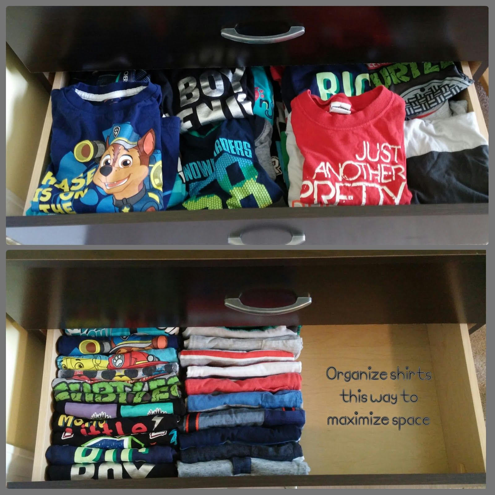 Restore Order Organizing Kids Clothes In Drawers