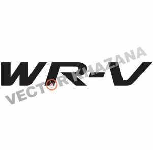 Honda Wr V Logo Vector Vector Logo Svg Vector