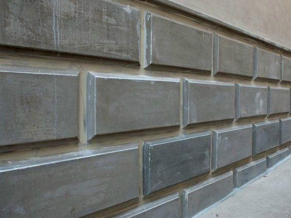 Zocalo De Fachada De Hormigon Armado By Flli Maresca Concreto - Zocalos-de-fachadas