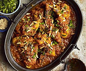 Moroccan chicken recipes One pot tagines and pomegranate-studded couscous make our Moroccan chicken recipes a great option for your next dinner party.