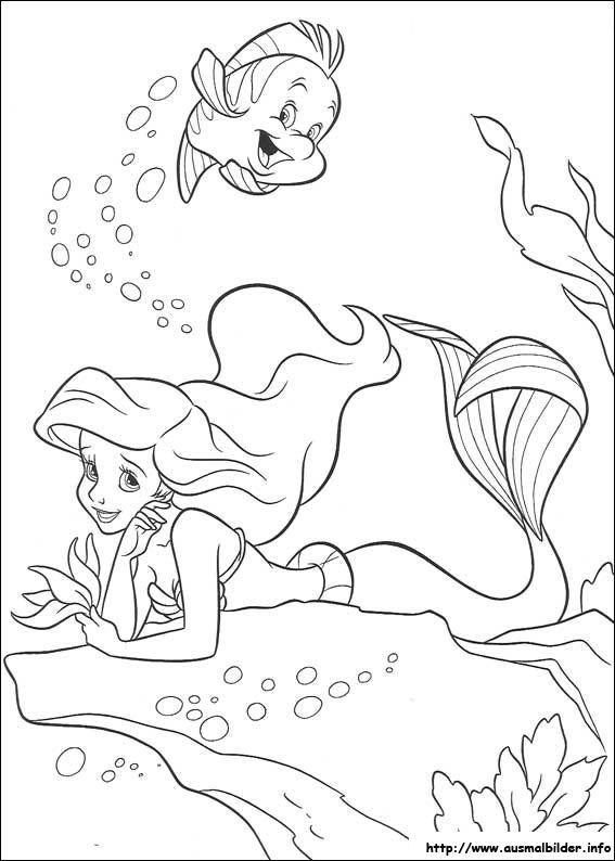 Arielle Die Meerjungfrau Malvorlagen Ariel Coloring Pages Princess Coloring Pages Disney Coloring Pages