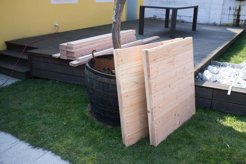 Ein Hochbeet Selbst Bauen Ist Ganz Einfach Friedrichs Gartenjahr Aussaen Pflanzen Giessen Und Geniessen Hochbeet Selber Bauen Douglasie