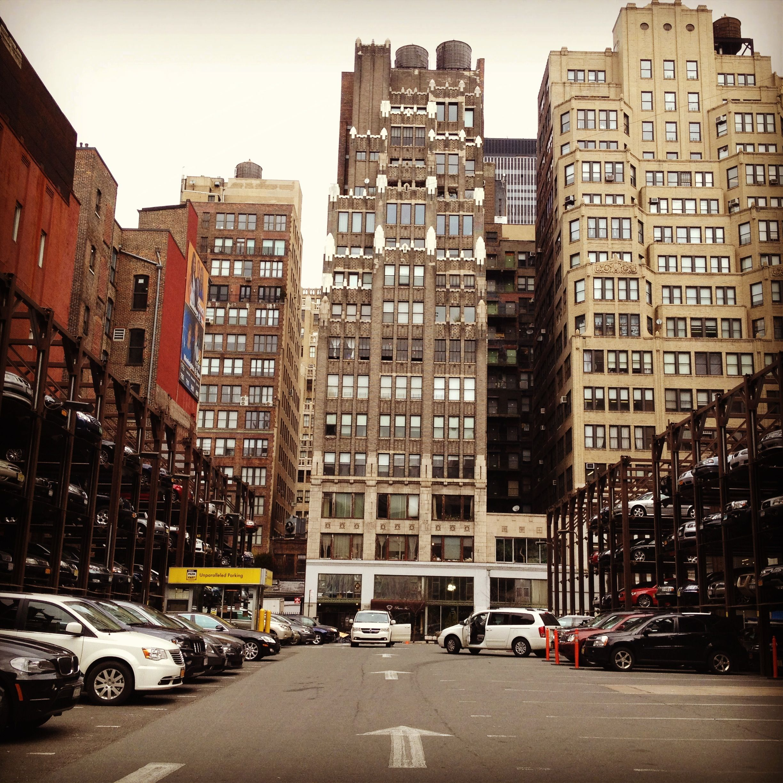 parkinglot #nyc | Random NYC | Nyc, New york, Street