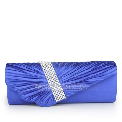 Bolsas de mão - $21.49 - Elegante Seda com Strass Embreagens (012038387) http://jjshouse.com/pt/Elegante-Seda-Com-Strass-Embreagens-012038387-g38387?ver=1