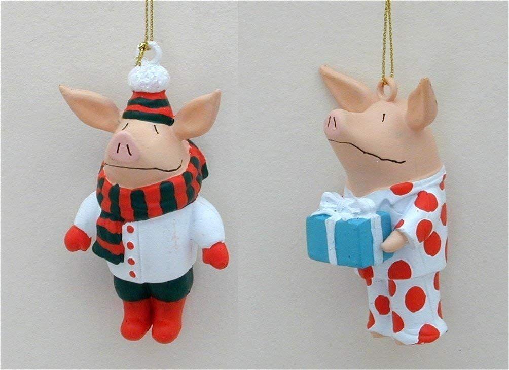 Olivia the Pig Christmas Ornaments   Christmas ornaments ...