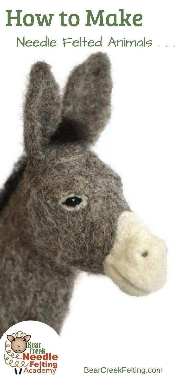 Teresa Perleberg's Needle Felting Academy Felt animals
