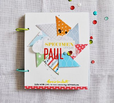 Mon petit monde coloré: Mini-album pour Color ConspiracY . Collection Mini...