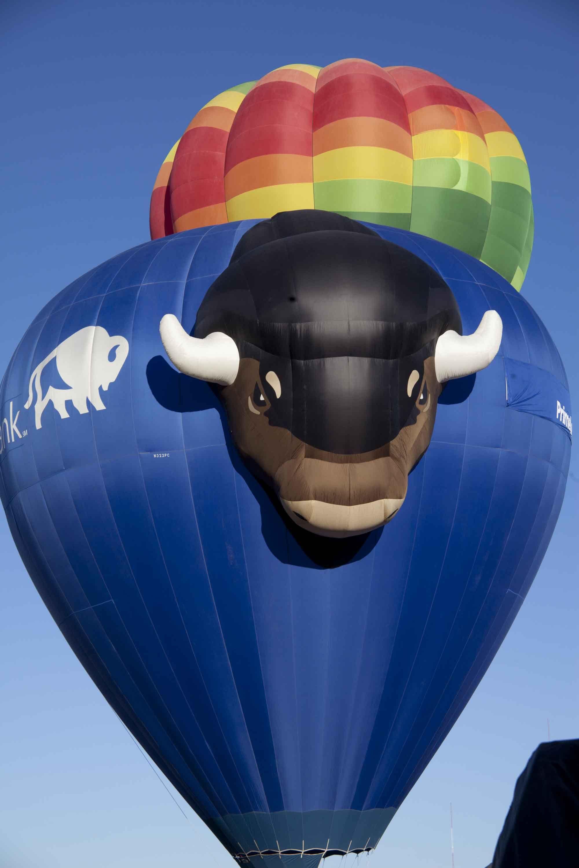 BULL ALOFT Hot air balloon festival, Air balloon, Hot