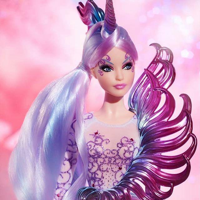 Resultado de imagem para barbie goddess unicorn