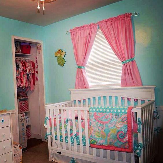 Paisley Baby Bedding Crib