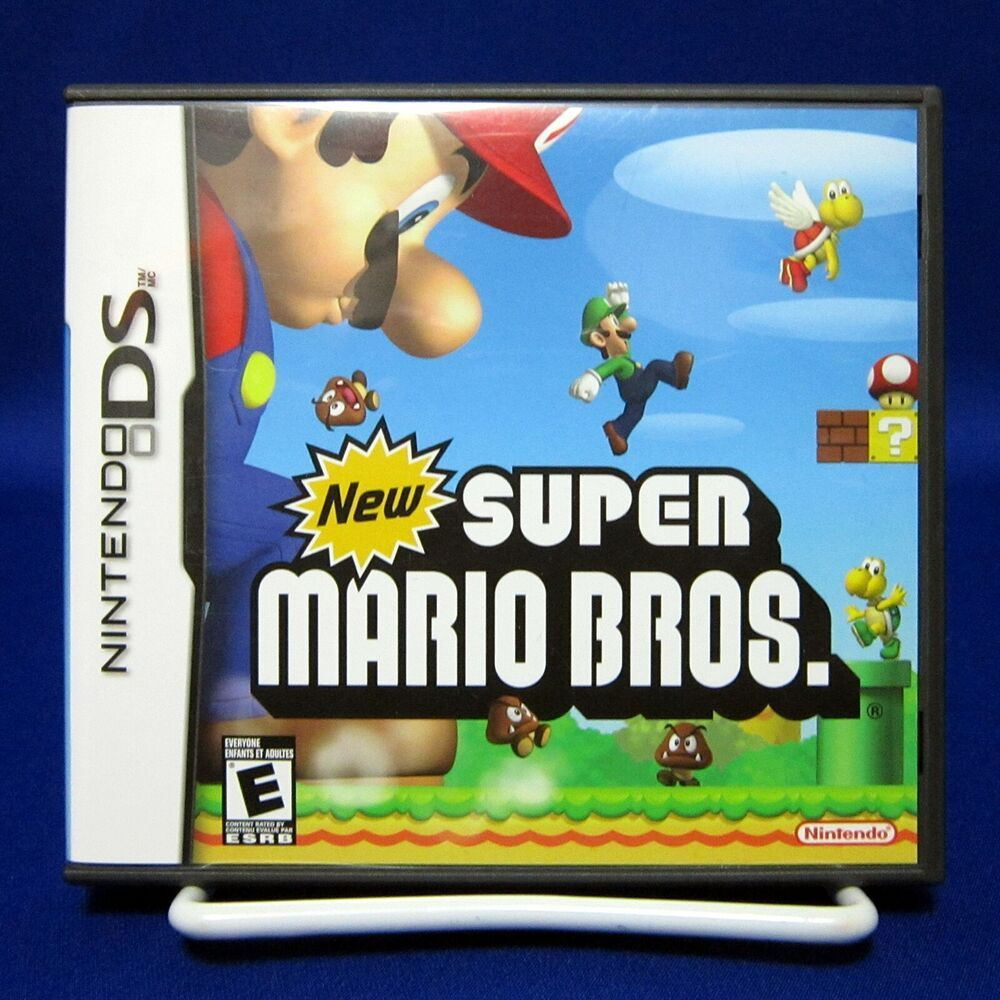 Ds New Super Mario Bros Nintendo Tested Cartridge Only 2006 In 2020 Super Mario Bros Games Super Mario Bros Nintendo Super Mario Bros