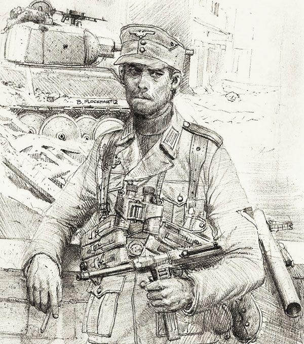 German Nco Eastern Front By Jesusfood On Deviantart In