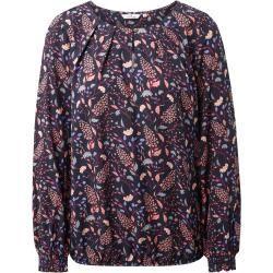 Langarmblusen für Damen -  Tom Tailor Damen Gemusterte Bluse, blau, gemustert, Gr.42 Tom TailorTom Tailor  - #brautkleider #CranberryEnergiebällchen #damen #für #Hochzeitsblumen #Käsekuchen-Rezepte #langarmblusen