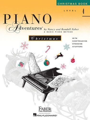 Level 4 Christmas Book Piano Adventures Used Book In Good Condition Christmas Books Beginner Books Books