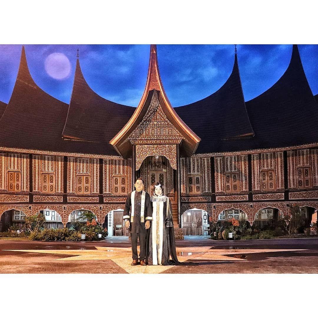 Gambar Rumah Adat Minang