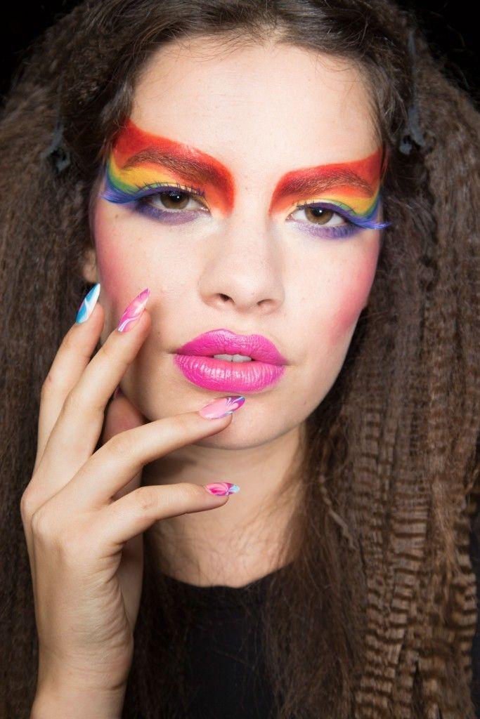 Backstage Beauty – Betsey Johnson Spring 2016 RTW | Makeup ...