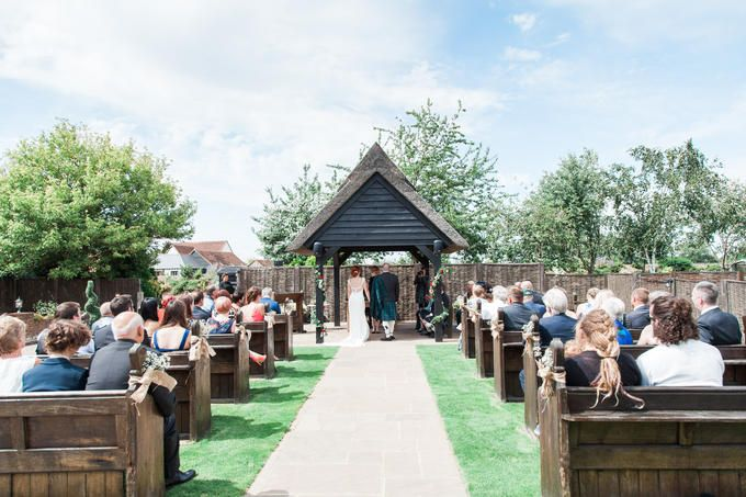 Channels Outdoor Ceremony Chelmsford