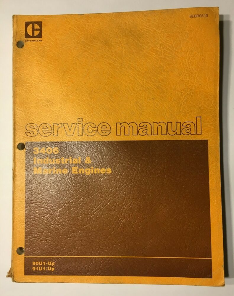 Caterpillar Service Manual 3406 Industrial  U0026 Marine