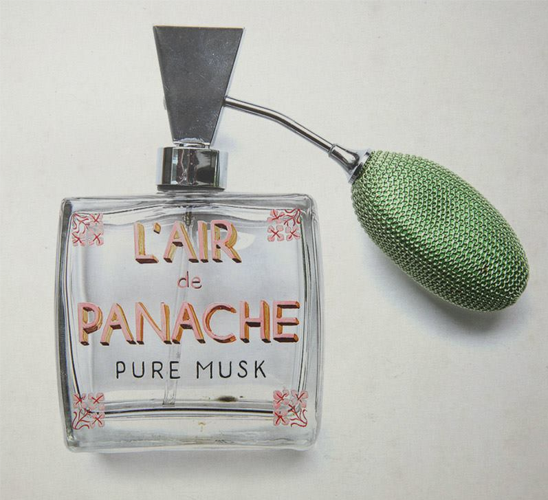 { L'Air de Panache Pure Musk – A popular men's fragrance in Zubrowka. Rumored to be the preferred scent of one Gustave H., concierge at The Grand Budapest Hotel. } Source: Akademie Zubrowka Historical Archives (http://www.akademiezubrowka.com/).  Courses in the History of Zubrowka begin Jan. 28th!