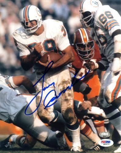 a387d728385 Larry Csonka Autographed 8x10 Photo - PSA DNA  SportsMemorabilia   MiamiDolphins