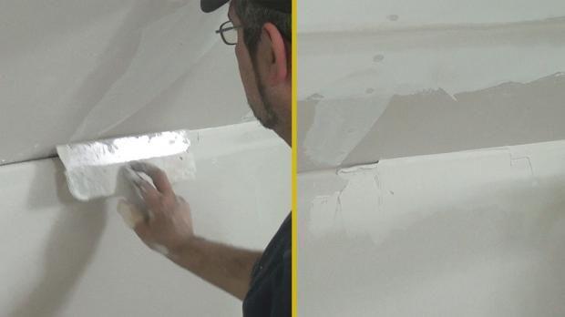 gipskarton verspachteln spachtelarbeiten pinterest dachschr ge rigips und malerarbeiten. Black Bedroom Furniture Sets. Home Design Ideas