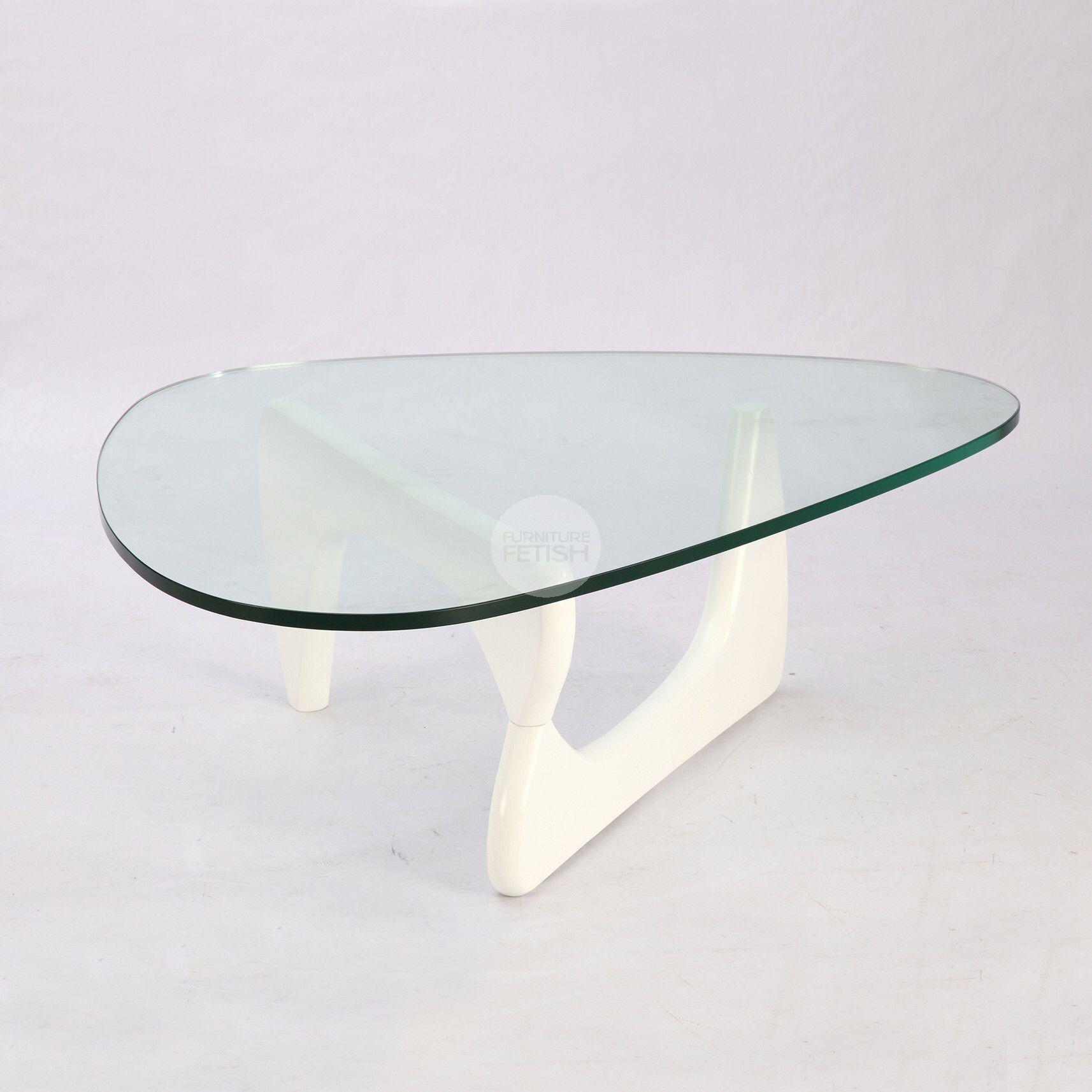 Attirant Replica Isamu Noguchi Coffee Table   White