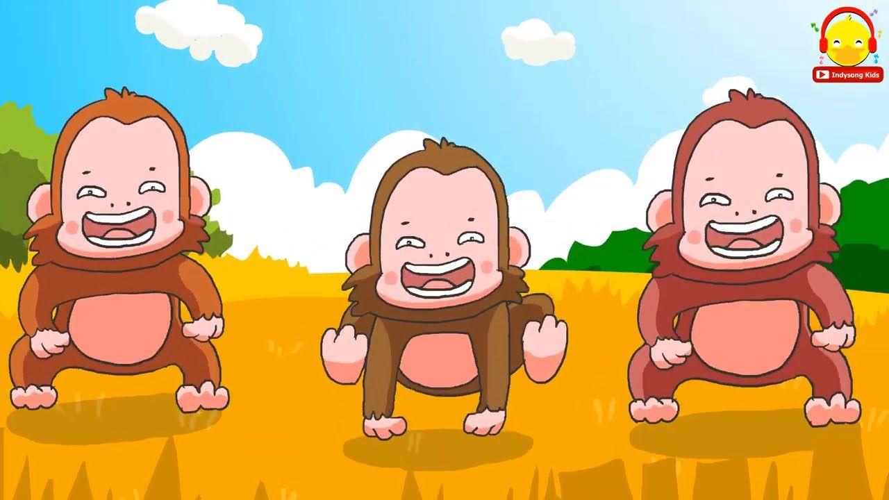 ล งเจ ยกๆ เพลงล ง Monkey Song เป ด เต า ว ว ล กช าง เพลงเด กน อย Indysong Kids Youtube ในป 2021 ล กช าง เต า การ ต น