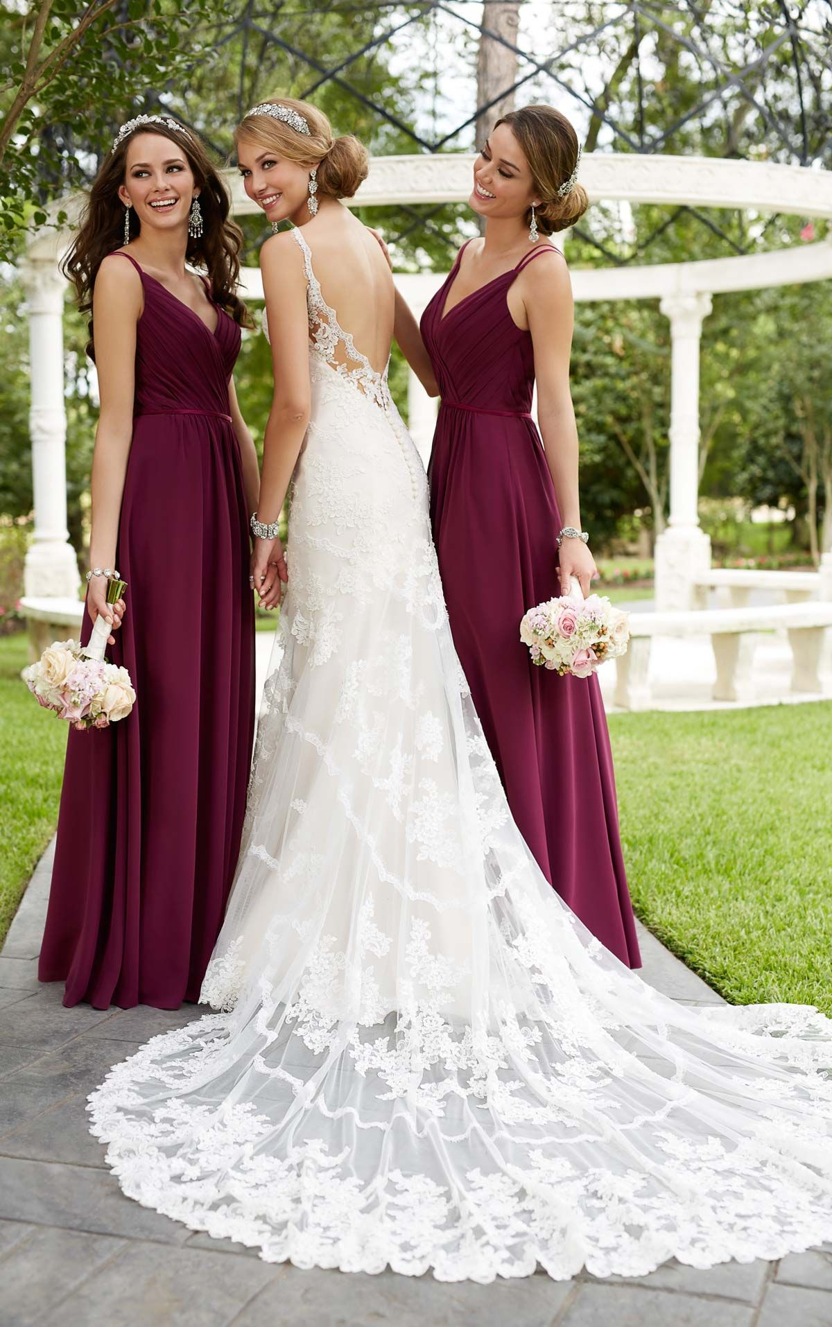Antique inspired wedding dress in biancaus big day