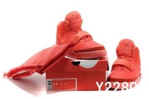 """Super Perfect Nike Air Yeezy 2 """"Red October"""" Glow in the dark (Restock) 09748ac858"""