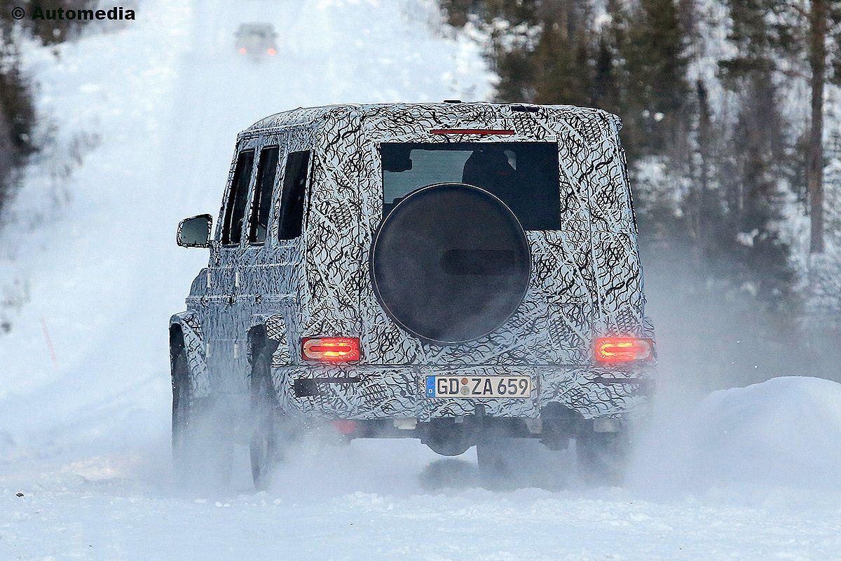 Mercedes G Klasse W464 2017 Vorschau Erlkönig Preis Bilder