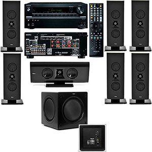 Klipsch Gallery G 16 7 1 Home Theater System Sw 115 Onkyo Tx Nr636