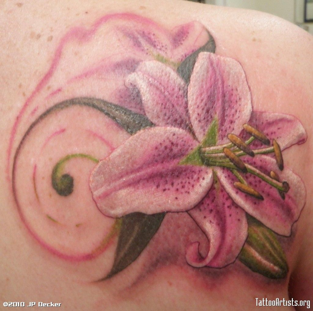 Lily flower tattoo design free download tiger lily for grandma lily flower tattoo design free download tiger lily for grandma tattoo artists org design dhlflorist Image collections
