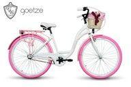 Damski Rower Miejski Goetze Blueberry 28 Kosz Bicycle Vehicles