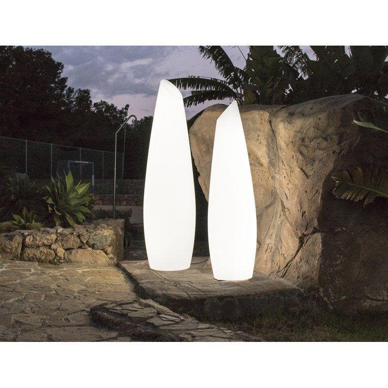 Lampadaire Exterieur Fredo 170 Cm G13 35 W 2460 Lm Blanc Newgarden Leroy Merlin Lampadaire Exterieur Lampadaire Exterieur