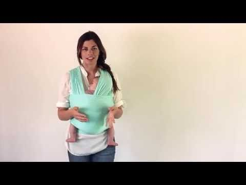 Classic Carry In A Solly Baby Wrap Youtube Baby Pinterest