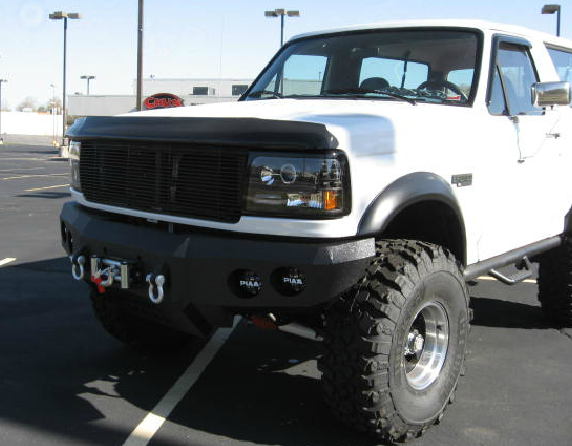 Iron Bull Bumpers - Iron Bull Front Bumper Ford Bronco 1987-1991