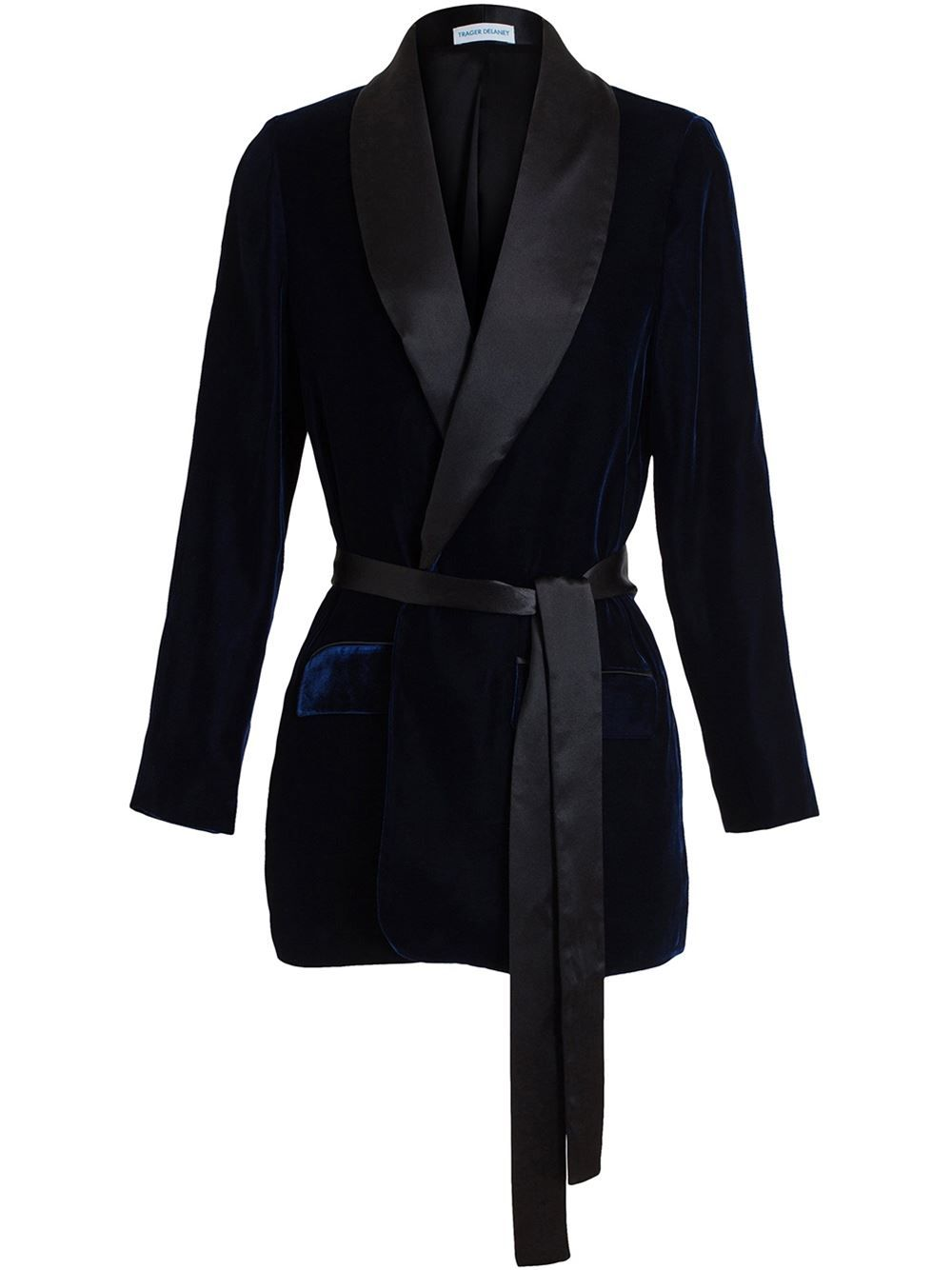 acb231a057d2c Women's Black Velvet Smoking Jacket in 2019 | Velvet | Smoking ...