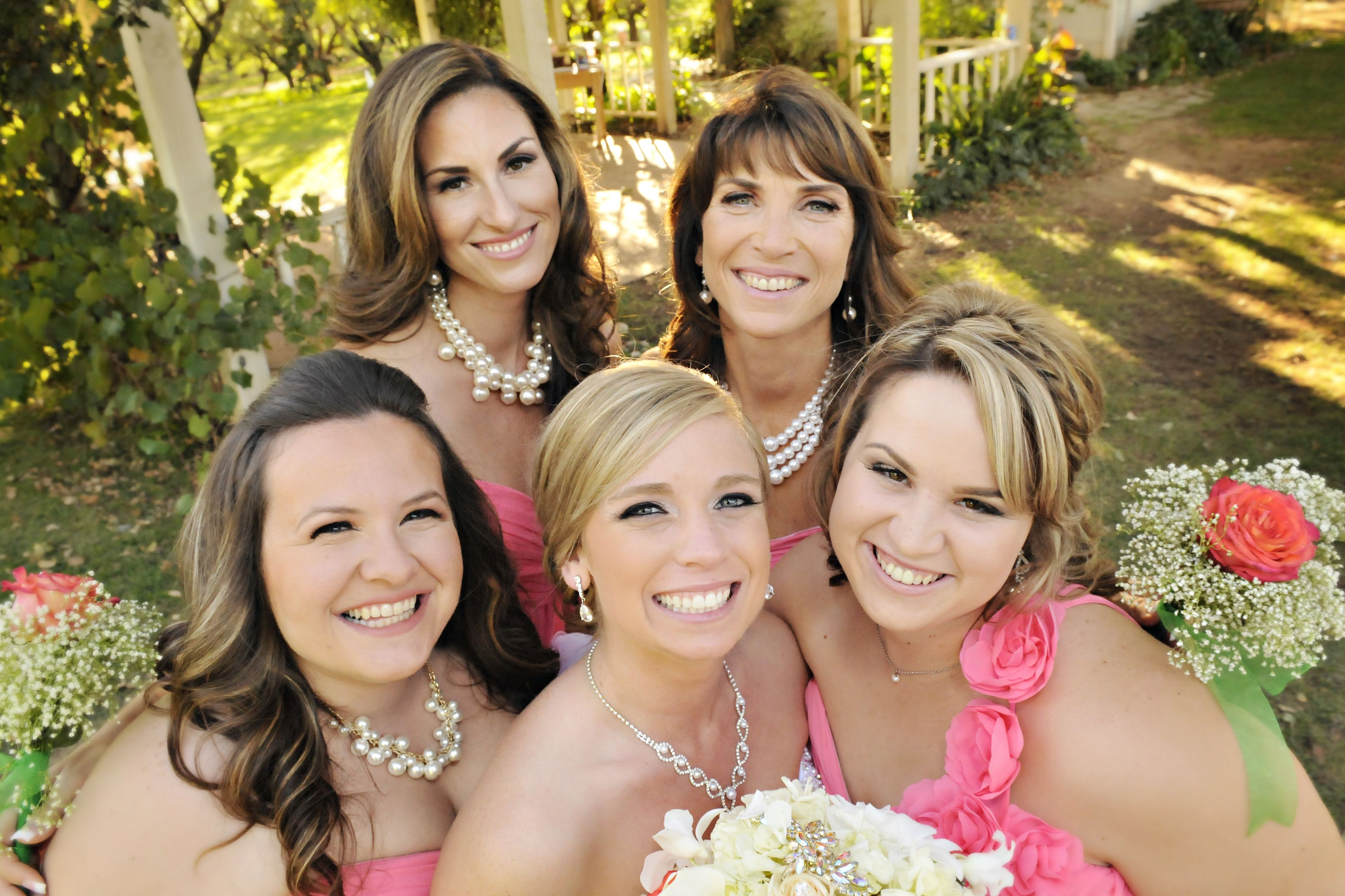 Best, Most Beautiful Bridesmaids Around! :)