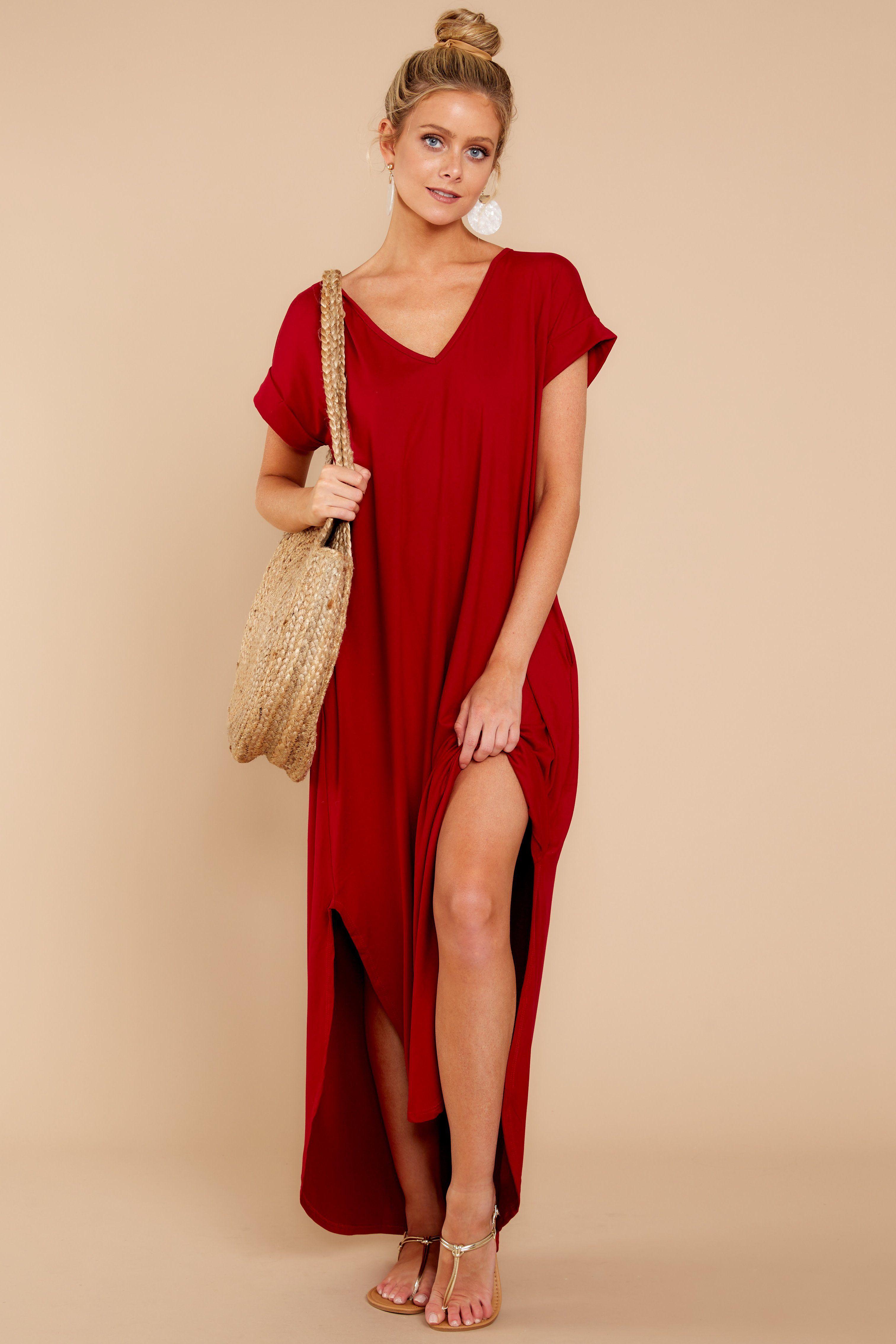 46+ Red maxi dress ideas