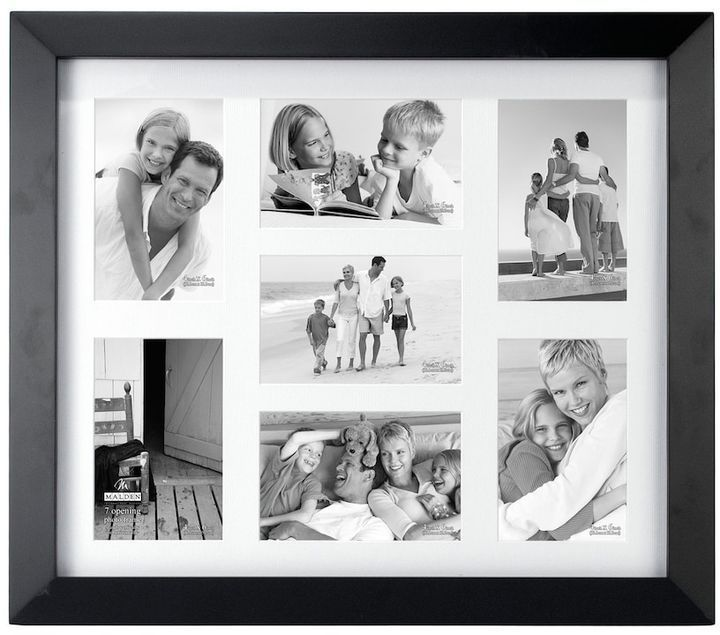 Malden Matted Black Berkely 7 Opening 4 Quot X 6 Quot Collage Frame With Images Collage Frames
